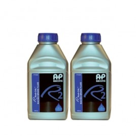 Pack 2 Líquido de Frenos DOT 4 AP RACING R2 AP 600 500ml 204°C/312°C
