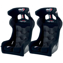 Pack 2 Asiento Baquet Atech North New Design