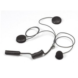 Kit Micro / Altavoz Stilo Casco Integral Auriculares