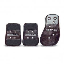 Kit 3 Pedales Sparco Carbono