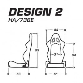 Asiento Baquet OMP Design 2 No FIA