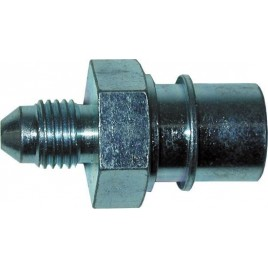Adaptador Goodridge Macho / Hembra 3/8 - 10x100 Convexo